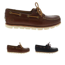 Mens Timberland Tidelands 2 Eye Boat Casual Summer Lace Up Deck Shoes All Sizes