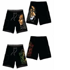 BOB MARLEY / Bob Marley BLACK Board Shorts ~ Size 2X ~ NEW