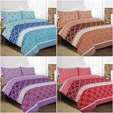 New & Modern ROBYN Duvet Quilt Cover Bedding Set with Pillowcases, All sizes