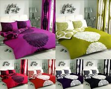Luxury MANHATTAN Duvet Quilt Cover Bedding Set with Pillowcases – All sizes
