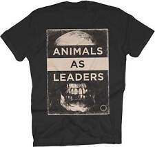 Animals As Leaders Skull Small Black T-Shirt