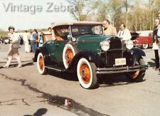 Old Vintage Photograph Colour Photo Classic American Car 1928 Dodge Roadster USA