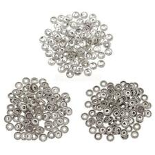 100pcs Tibetan Silver Spacer Beads DIY Jewelry Charms Bracelet Necklace Chain