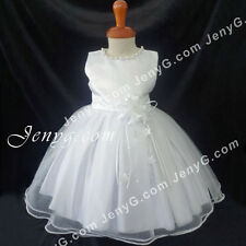 NLW7 Baby Infants Christening Baptism First Holy Communion Formal Gown Dress