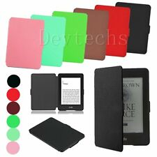 Slim Smart Magnetic Stand Leather Case Cover For Amazon Kindle Paperwhite NEW