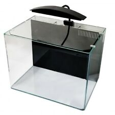 JBJ Cubey Deluxe 3 Gallon Nano Aquarium Fresh and Saltwater reef tank all in one