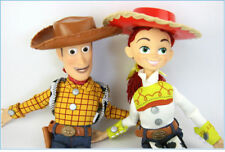 Disney Pixar Toy Story Woody Jessie Action Figures Talking Kid PVC Toy Doll 34cm