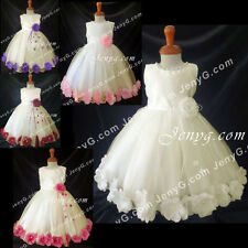 MFI7 Baby Girls Christening Baptism First Holy Communion Formal Prom Gown Dress