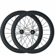 60mm Tubular Carbon Wheels Road Bicycle Road Wheel Track Fixed Gear Wheelset