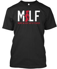 Milf Moms In Love With Fitness Mlf Premium Tee T-Shirt