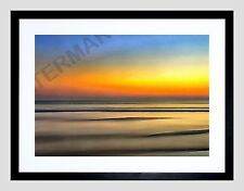 PAINTING DIGITAL  SEASCAPE ACRYLIC FRAMED ART PRINT F12X11156