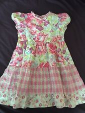 Baby Lulu B. Lulu Floral Print Dress ~ Gypsy Rose Line ~ Girls Size 6 6X EUC