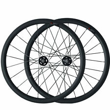 38mm Tubular Carbon Wheels Road Bicycle Road Bike Track Fixed Gear Wheelset