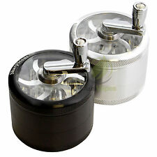 HERB GRINDER - Sharpstone 64mm Crank Top 4pc Grinder- grinder muller crusher