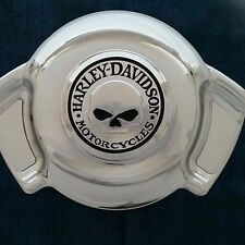 NEW HARLEY DAVIDSON WILLIE G. CHROME CUSTOMIZED AIR WING HORN COVER