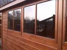 Clear acrylic replacement greenhouse / shed / playhouse or single glazed windows