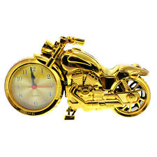 New Motorcycle Autobike Model Quartz Analog Top Grade Travel Desk Alarm Clock