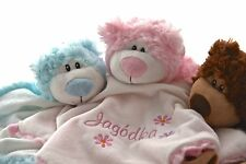 Bear Personalised Baby Comforter/Snuggle Blanket/Cubbies Comforter/Baby Shower
