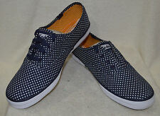 Keds Women's Champion Lace Up/Laceless Micro Dot Navy Sneakers - Assorted Sizes