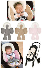 Brand new baby Gift Car Seat Pram Stroller Reversible Body/Head Support Mat