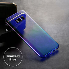 Ultra Thin Gradient Colorful Clear Case Soft Cover For Samsung Galaxy S8/S7 edge
