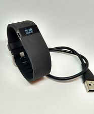 Fitbit Charge HR Wireless SMALL BLACK Heart Rate + Activity Wristband - S cable