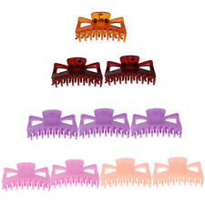 10pcs WomenHair Plastic Claws Clamp Clips Hairpin Grips Slides Hair Accessory