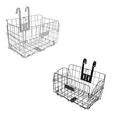 Foldable Bike Front Basket Bicycle Storage Rear Basket Cycling Accessories
