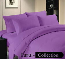 Brand New Super Soft For CANADA Hotel Purple Bedding Collection 1000TC100%Cotton