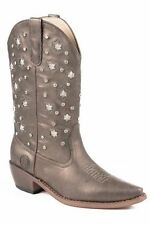 Roper Star Lights Studded Metallic Cowgirl Boots 09-021-1552-0971