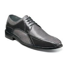 Stacy Adams mens shoes Graziano Leather Sole Bike Toe Oxford Gray 25049-020