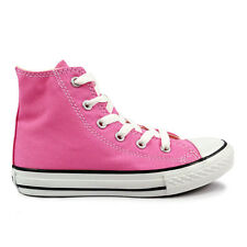 Youths Converse Pink Chuck Taylor All Star Hi Trainers
