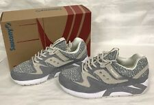 Saucony Knit Grid 9000 S70302-3 Grey Brand New In Box
