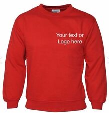 Printed polo shirts / personalised sweat shirts printed/embroidered text/logos