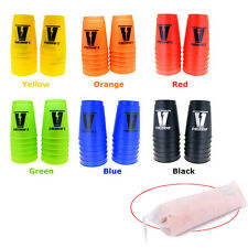 12 Sport Cups Stacks Stacking Flying 3 Colors Toys Game