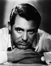 Cary Grant Resting Head On Hands High Quality Photo