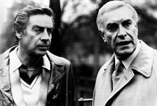 Crimes And Misdemeanors Two Men Talking in Movie Scene High Quality Photo