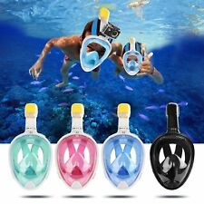 Full Face Diving Snorkeling Mask Scuba Underwater Swimming Diving Mask for GoPro