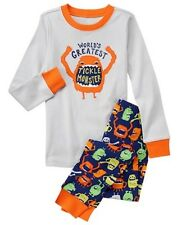 NWT Gymboree Boys Gymmies Pajamas set Tickle monster