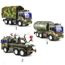 Military Army Truck Car Model Diecast Vehicles Collectible Children Toy Gift