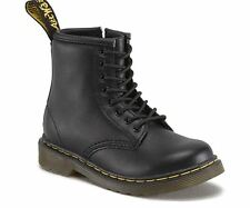 Dr Martens Brooklee Black Softy T Leather Toddler Boots
