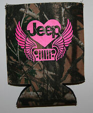 Jeep Wings Beer can Koozie
