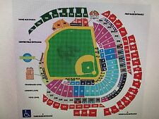 4 Miami Marlins vs Atlanta Braves Sec 10 Row 24 Aisle Tickets 9/28/17