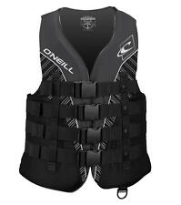 Life Vest Mens O Neill Wetsuits Wake Waterski Superlite USCG Nylon Coated Poly .