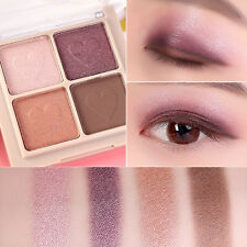 4 Colors Mixed Eye Shadow Makeup Powder Pigment Mineral Eyeshadow