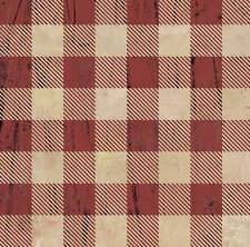 Rustic Plaid Fabric Printed by Spoonflower BTY