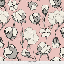Cotton Blossom Fabric Printed by Spoonflower BTY