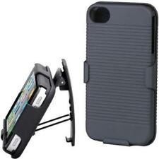BLACK HARD SHELL COMBO CASE ARMOR CARRYING HOLSTER for SMARTPHONES