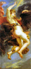 Classic art print from Greek Mythology - Zeus and Ganymede by Peter Paul Rubens