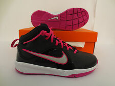 NIKE TEAM HUSTLE D 6 SHOES YOUTH KIDS GIRLS GS RUNNING SCHOOL PINK 599187 004